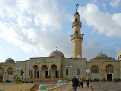 Asmara náboženská - Mešita Kulafa Al Rashidin, 1943 - foto: Adam Lacina