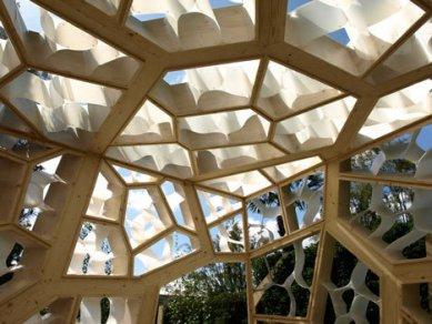 Zahradní pavilon v Londýně od NEX architecture