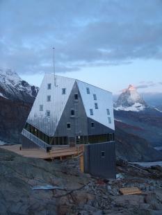 Horská chata Monte Rosa, Švýcarsko