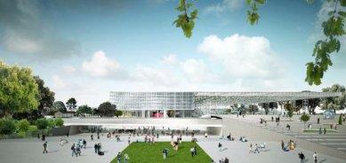 OMA zvítězila v soutěži na nové výstaviště ve francouzském Toulouse - foto: OMA