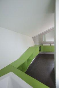 Dvojdomek v Oberweningen od L3P Architekten - foto: Vito Stallone