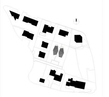 Dvojdomek v Oberweningen od L3P Architekten - Situace - foto: L3P Architekten