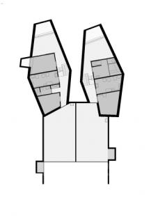 Dvojdomek v Oberweningen od L3P Architekten - Level 0 - foto: L3P Architekten