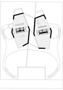 Dvojdomek v Oberweningen od L3P Architekten - Level 1 - foto: L3P Architekten