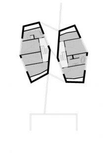 Dvojdomek v Oberweningen od L3P Architekten - Level 2 - foto: L3P Architekten