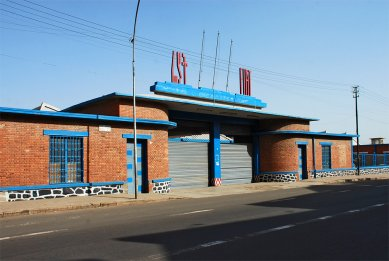 Asmara industriální - Depo firmy Fiat - foto: Adam Lacina