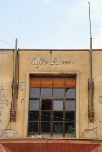 Asmara industriální - Budova firmy Alfa Romeo - 1937 - foto: Adam Lacina