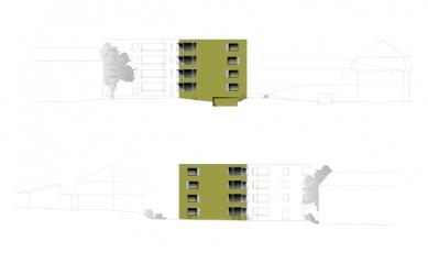 Sídliště Glättlistrasse v Curychu od L3P Architekten - Pohledy - foto: L3P Architekten