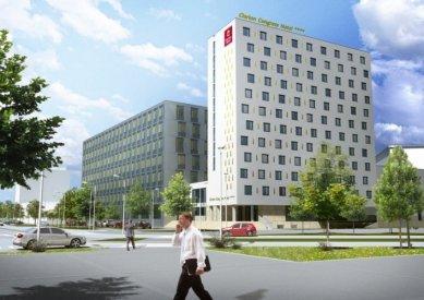 V Olomouci u vlakového nádraží vzniká kongresové centrum