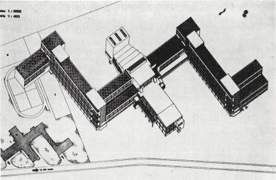 K 105. výročí narození českého architekta Václava Zralého - Návrh na chlapeckou a dívčí školu: diplomní projekt na Bauhausu, konzultant Ludwig Mies van der Rohe, 1931