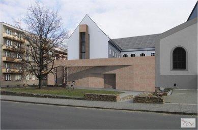 V Opavě skončila oprava bývalého dominikánského kláštera  - Dům umění - vizualizace - foto: © Statutární město Opava
