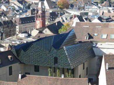 Rozšíření muzea kultur v Basileji od H&deM - foto: Herzog & de Meuron