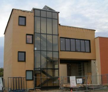 EKO-centrum pařížských zahradních architektů  - Eko-centrum zahradních architektů, Paříž - dřevovláknitá izolace