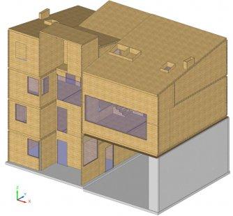 EKO-centrum pařížských zahradních architektů  - vizualizace
