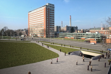 kruh podzim 2011: Zlín sobě - Vítězný projekt rekonstrukce podchodu na náměstí Práce ve Zlíně. - foto: Občanské sdružení KRUH