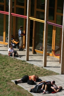 Projektil architekti vystavují v ČB