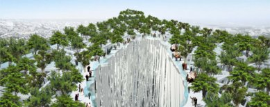 21 Century Oasis v Taichung od Sou Fujimoto - foto: Sou Fujimoto Architects
