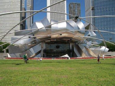 Rozhovor s Petrem Kratochvílem - Millennium Park v Chicagu - Millennium Park v Chicagu od Franka Gehryho (2004) - foto: Petr Kratochvíl/Fulbright-Masaryk grant, 2011