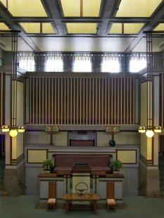 Rozhovor s Petrem Kratochvílem - Unity Church v Old Oaks - Unity Church v Old Oaks od Franka Lloyda Wrighta (1904) - foto: Petr Kratochvíl/Fulbright-Masaryk grant, 2011