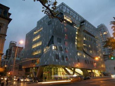 Rozhovor s Petrem Kratochvílem - The Cooper Union School - The Cooper Union School v New Yorku od Morphosis (2009) - foto: Petr Kratochvíl/Fulbright-Masaryk grant, 2011