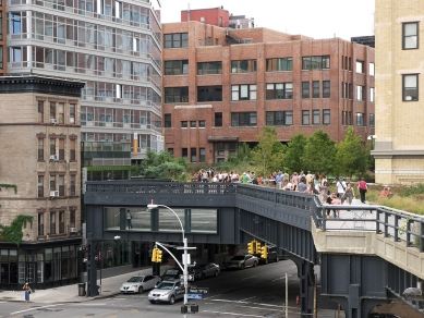 Rozhovor s Petrem Kratochvílem - High Line Park v New Yorku - High Line Park v New Yorku od Diller, Scofidio + Renfro a Field Operations (2011) - foto: Petr Kratochvíl/Fulbright-Masaryk grant, 2011