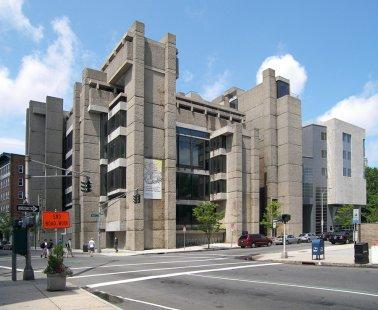Rozhovor s Petrem Kratochvílem - Škola architektury na Yale - Škola architektury Yale University v New Haven od Paula Rudolpha (1963) - foto: Petr Kratochvíl/Fulbright-Masaryk grant, 2011