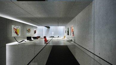 Tomáš Zdvihal (6. roč) - Neues Bauhaus Museum Weimar - Lávky mezi expozicemi - foto: Tomáš Zdvihal