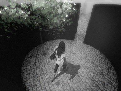Milada Vorzová (2.roč) - Kolumbárium do proluky vRůžové ulici - vítěz JFK 07 - foto: Milada Vorzová