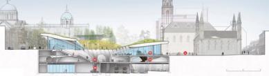 Soutěžní návrh parku v Aberdeen od Diller Scofidio + Renfro - foto: Image courtesy Diller Scofidio + Renfro