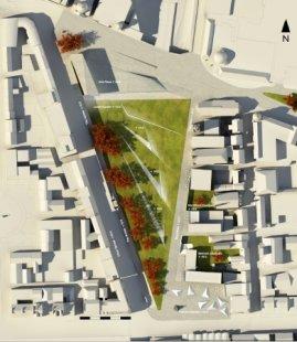 Soutěžní návrh parku v Aberdeen od Diller Scofidio + Renfro - foto: Snøhetta