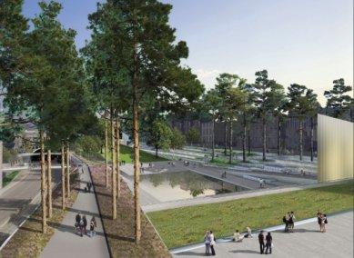 Soutěžní návrh parku v Aberdeen od Diller Scofidio + Renfro - foto: Gustafson Porter