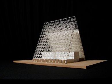 David Dvořák - Moravskoslezská studijní knihovna Ostrava - Model - foto: David Dvořák