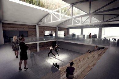 Rozšíření Kimball Art Center v Utahu od BIG - foto: Courtesy of BIG