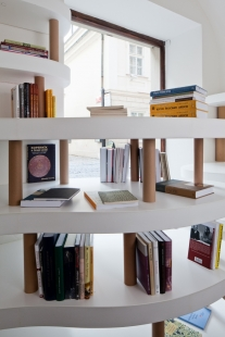 Josef Pleskot navrhl nové Knihkupectví Oliva - foto: Tomáš Souček