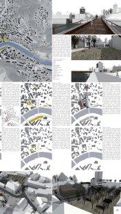 Malé náměstí v Železném Brodě - výsledky soutěže - 3. cena (50 tis. Kč): Ing. arch. Daniel Baroš, Ing. arch. Michal Nejezchleb