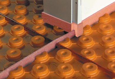 Inovativní konstrukční systém  podlahového topení