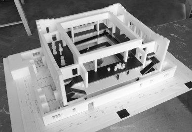 Kunsthalle v Žilině aneb život jedné synagogy - Model Kunsthalle