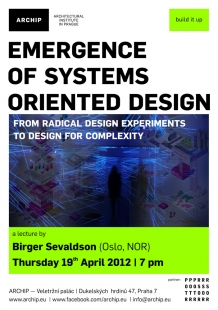 ARCHIP - Emergence of Systems oriented design - foto: ARCHIP