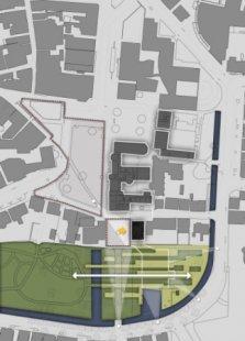 Rozšíření Drents Museum v Assen od Ericka van Egeraata - Situace - foto: EEA