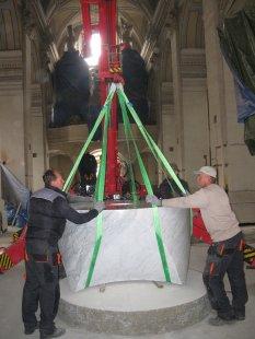 Velká liturgická úprava českobudějovické budějovické katedrály
