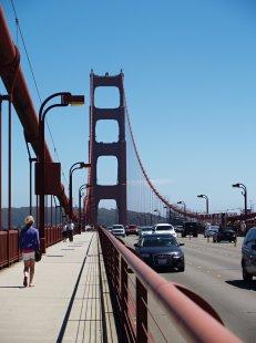 Sanfranciský Golden Gate oslaví 75. výročí od svého otevření - foto: Markéta Čermáková
