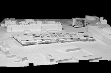 Dětská nemocnice v Curychu od H&deM - Model - foto: Herzog & de Meuron