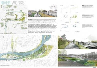Bridging Prague Award - výsledky soutěže - První místo - The River Works (Řeka funguje) - foto: Pete North (CA)
