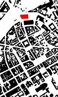 Vítězný projekt muzea umění v Remeši od Davida Chipperfielda - Situace - foto: David Chipperfield Architects