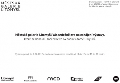 Výstava: Zdeněk Fránek - Příliš neviditelná architektura
