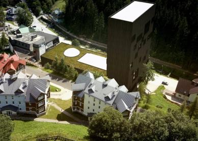 Rekonstrukce a dostavba obchodního střediska Sněžka vPeci pod Sněžkou - Bez pořadí - Mjölk architekti