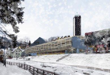 Rekonstrukce a dostavba obchodního střediska Sněžka vPeci pod Sněžkou - Bez pořadí - DaM