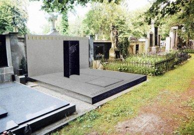 Hrobka aviatika Kašpara se opraví dle návrhu pardubického studia - Vítezný návrh