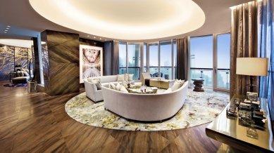 V Hongkongu prodán byt v Gehryho stavbě za 60 milionů dolarů - foto: opushongkong.com