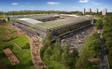 Stadion a nákupní centrum v Hradci mají územní rozhodnutí